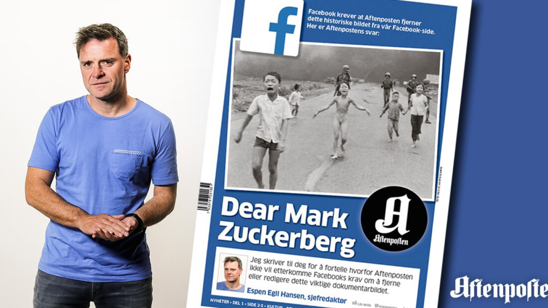 facebook, mark zuckerberg, censorship, norway, napalm girl, policies