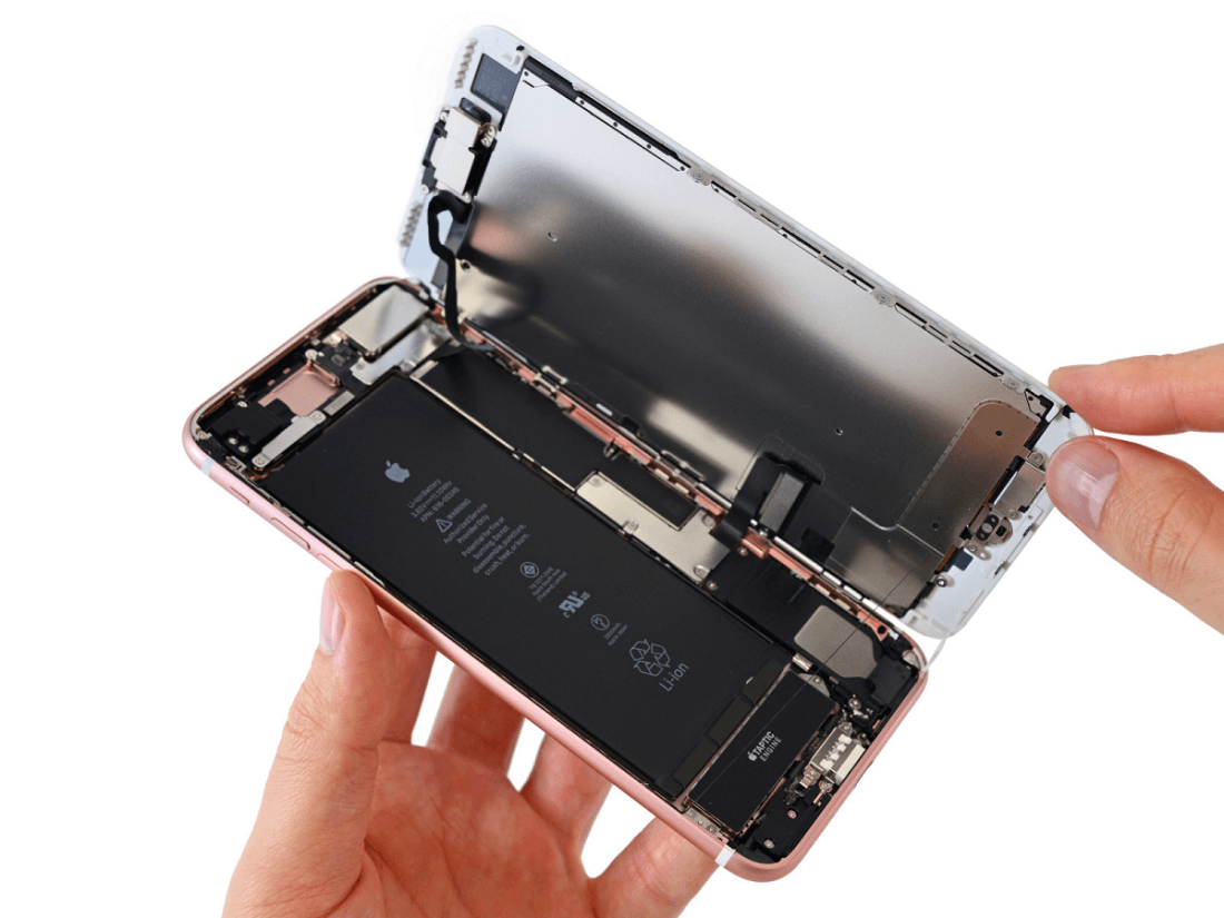 teardown, ifixit, batteries, iphone 7, taptic engine, iphone 7 plus, apple watch 2