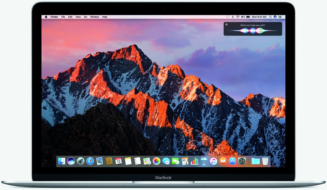 apple, operating system, siri, mac, macos sierra