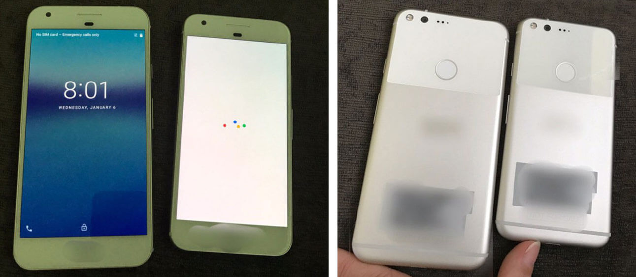 New leak suggests Google's Pixel phones look like iPhones ...