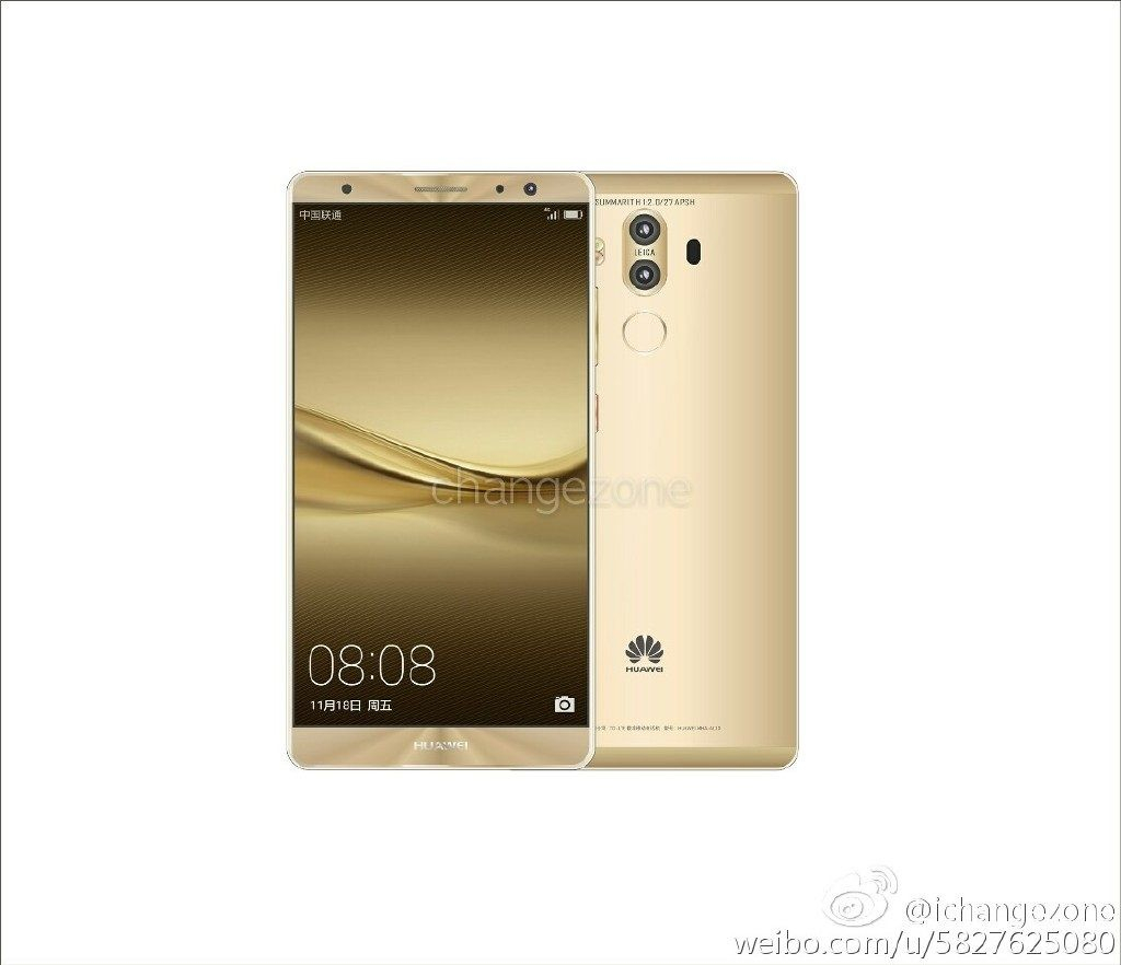 android, smartphone, huawei, leak, phone, mate, mate 9, kirin
