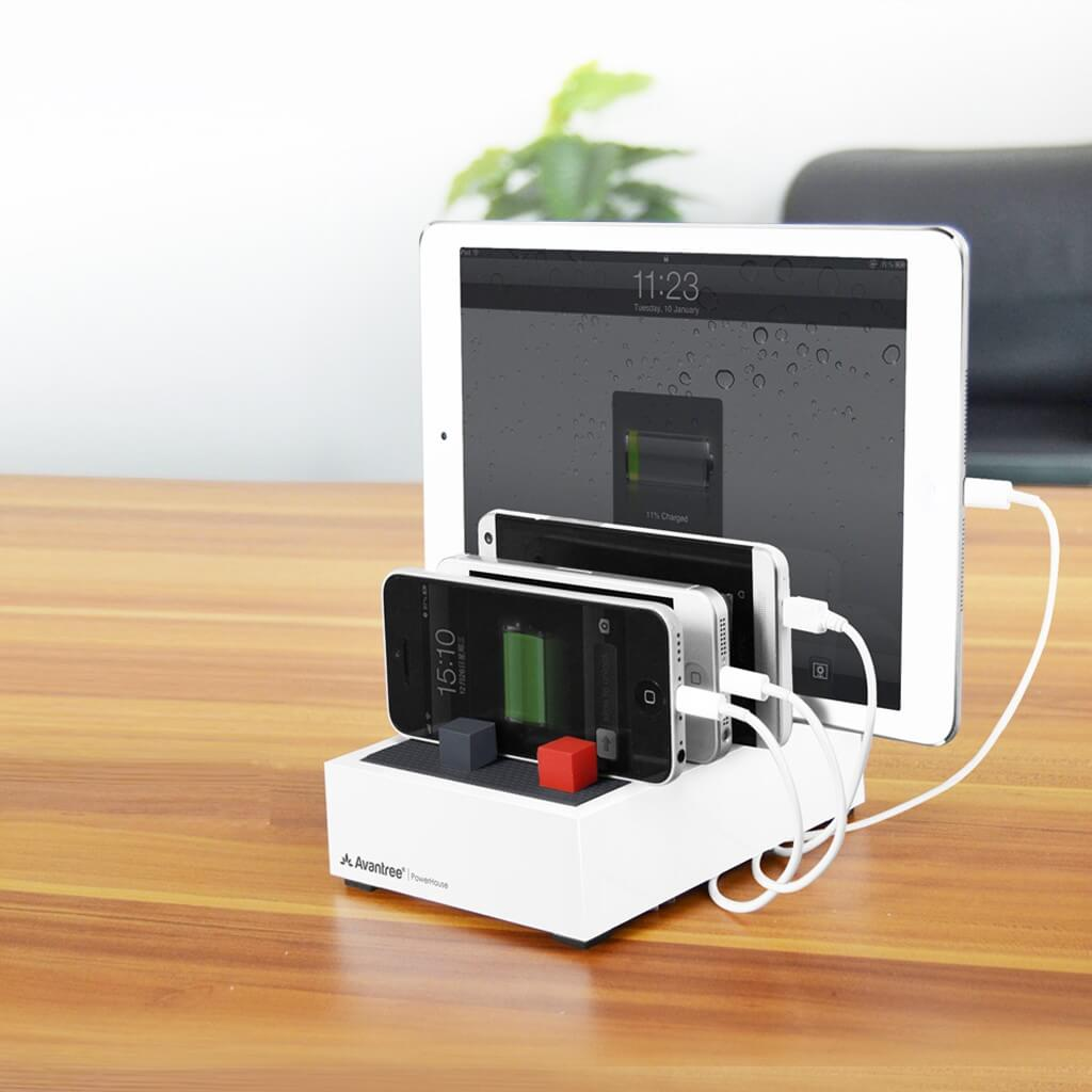 Charge up to four devices at once with the Avantree ...