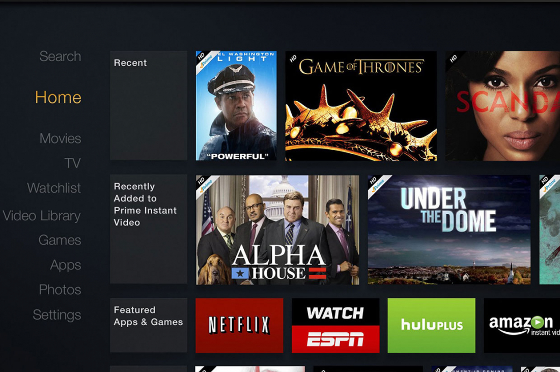 amazon, amazon fire tv, video streamer