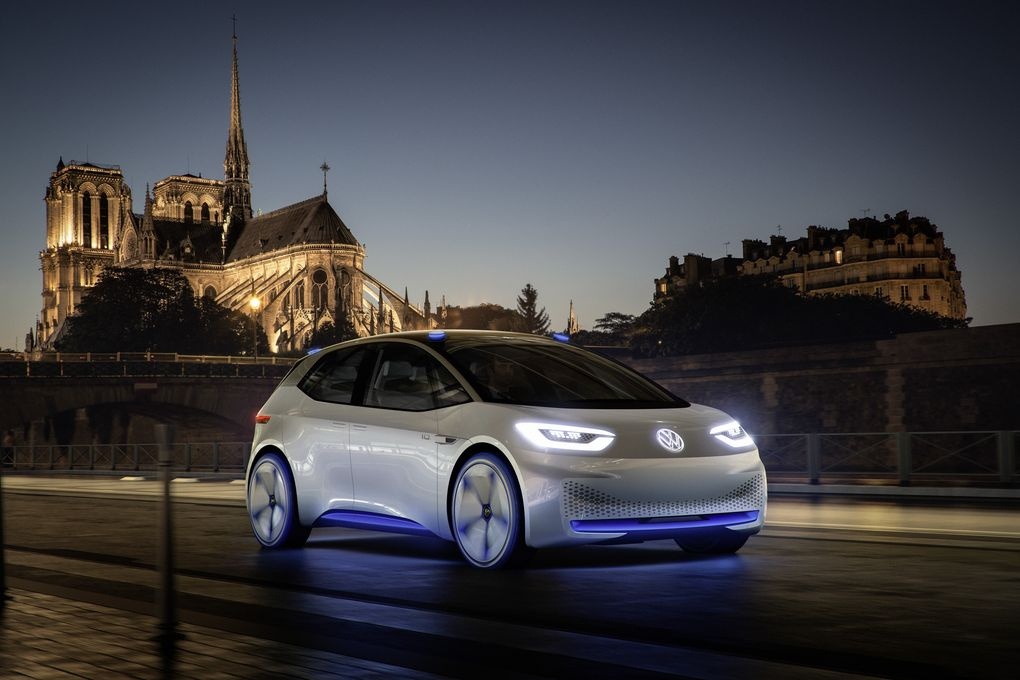 electric car, autonomous cars, volkswagen, concept car