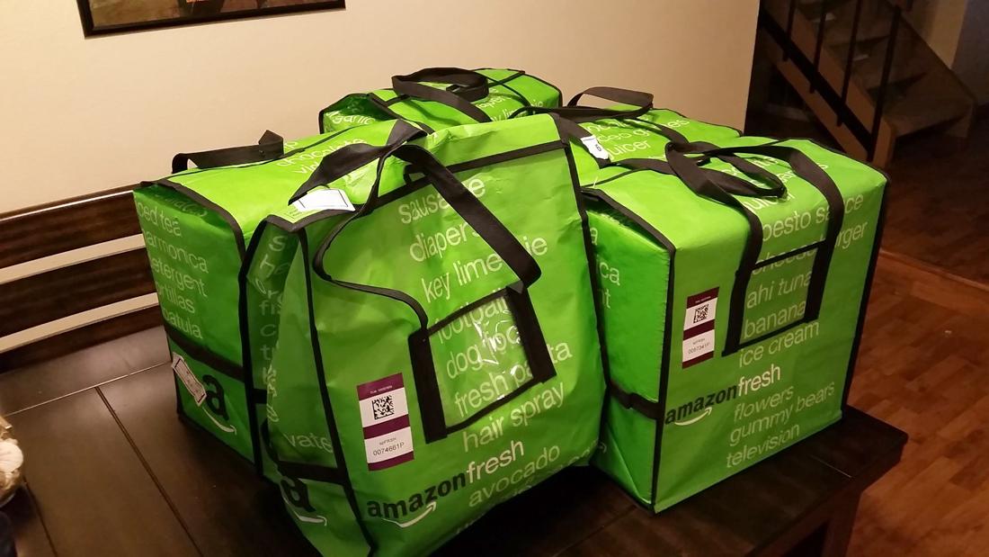 amazon, grocery delivery, amazon fresh