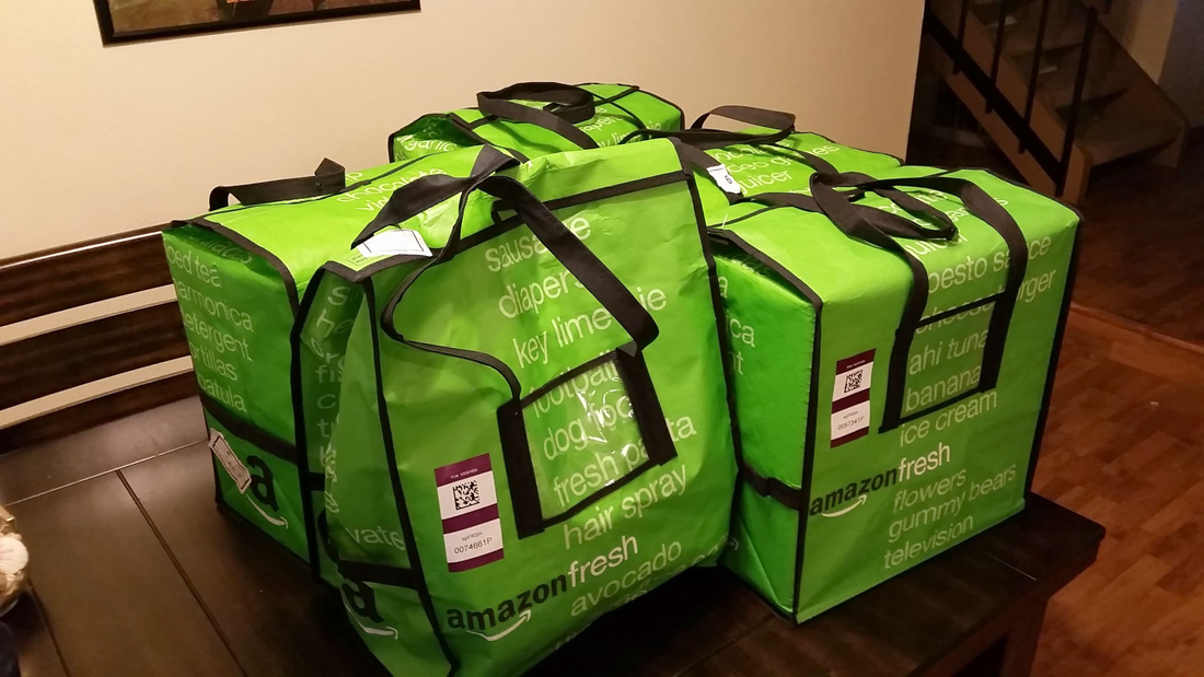 amazon, grocery delivery, amazon fresh, project como