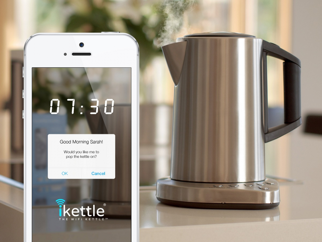 internet of things, connected devices, iot, smart homes, ikettle, kettle