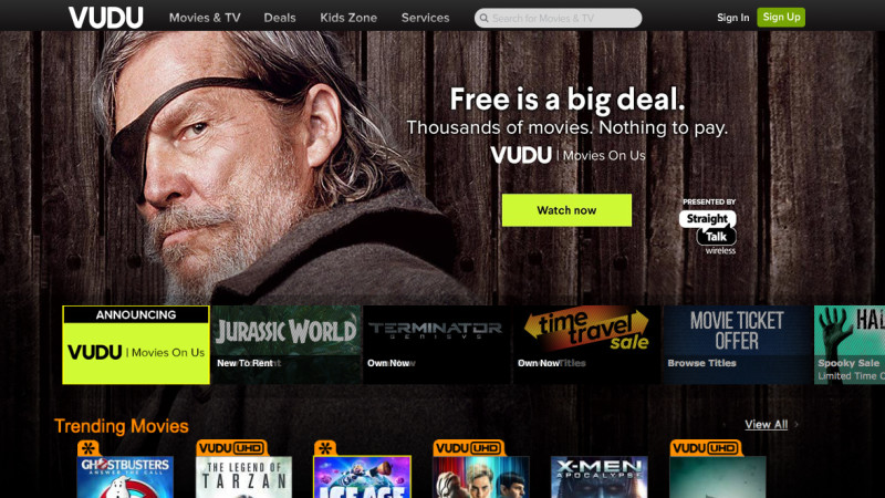 walmart, free, vudu, movies, streaming video
