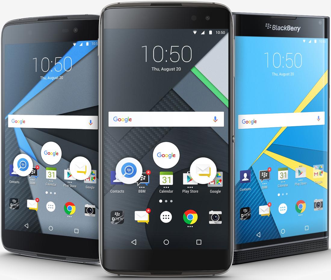 android, blackberry, smartphone, reference design, tcl, john chen, dtek60