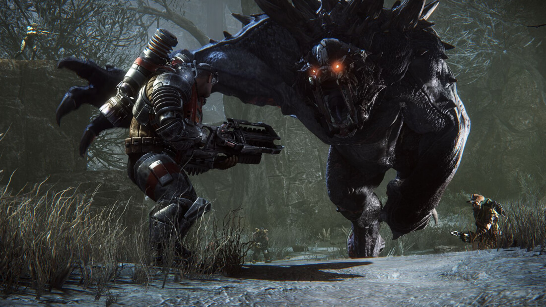 2k games, free-to-play, evolve, shuttering