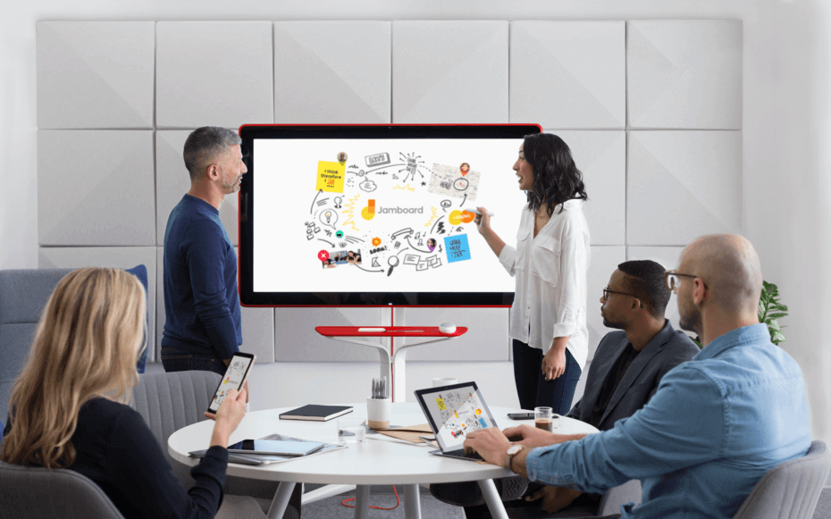 surface hub, collaboration, digital whiteboard
