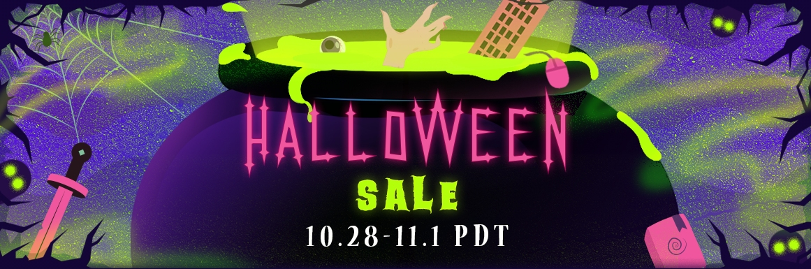 valve, steam, sale, steam sale, halloween sale