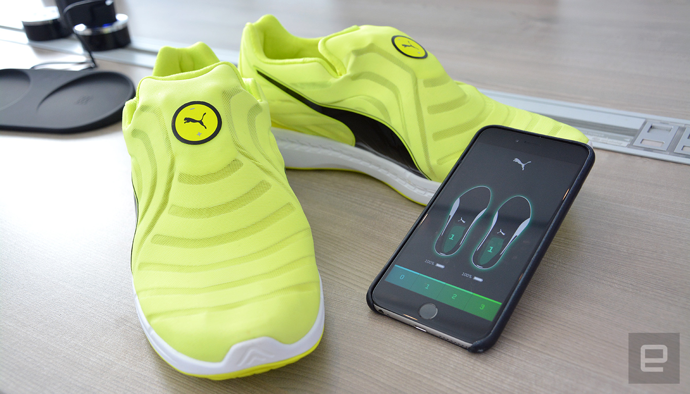 nike, shoes, self-lacing shoes, sneakers, puma, hyperadapt, autodisc, puma autodisc, nike hyperadapt