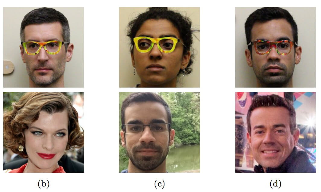 carnegie mellon university, facial recognition, glasses, image recognition