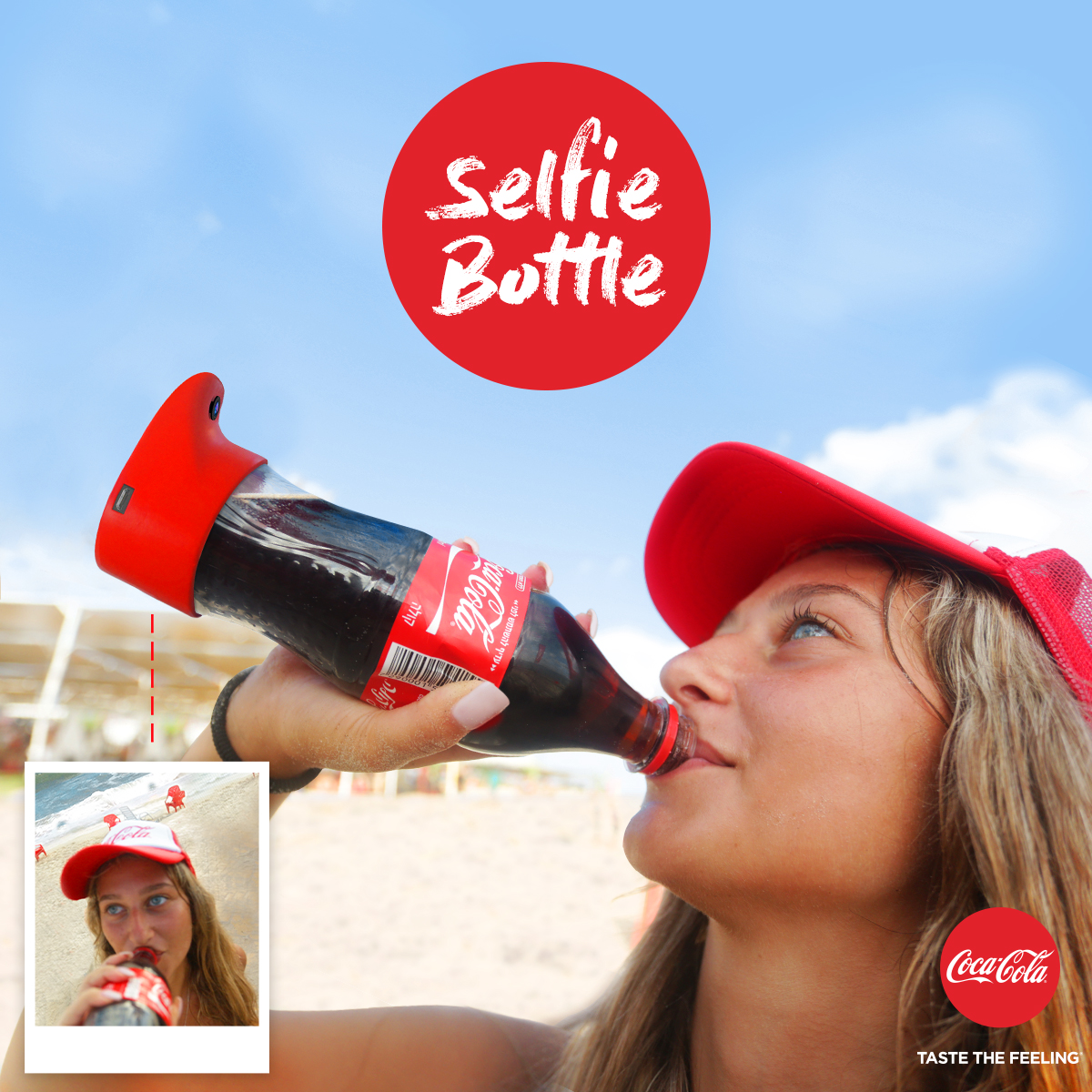 coca-cola, selfie, soda