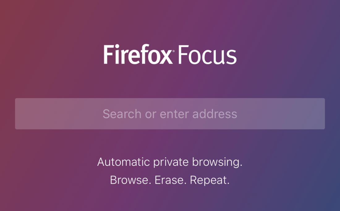 Firefox Focus Is A New Fast And Private Browser For iOS