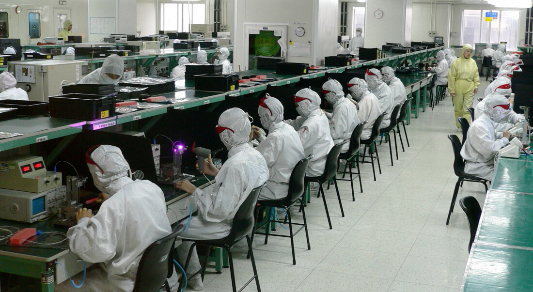 iphone, foxconn, china, us, manufacturing, donald trump