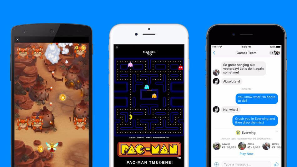 mobile web games