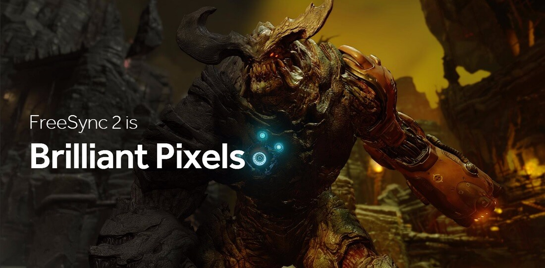 amd, ces, monitor, hdr, displays, freesync, ces 2017