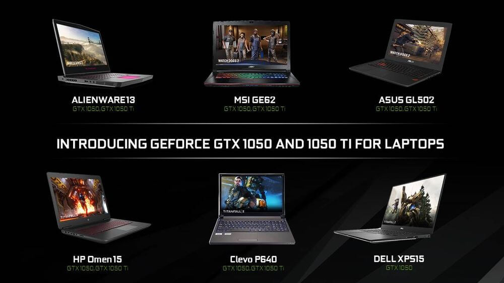 nvidia, geforce, gpu, ces, laptop, mobile gpu, gaming laptops, gtx 1050, graphics card, ces 2017, gtx 1050 ti