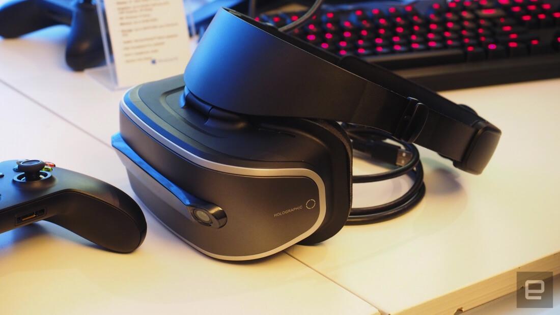 lenovo, ces, virtual reality, vr headset, windows holographic, ces 2017