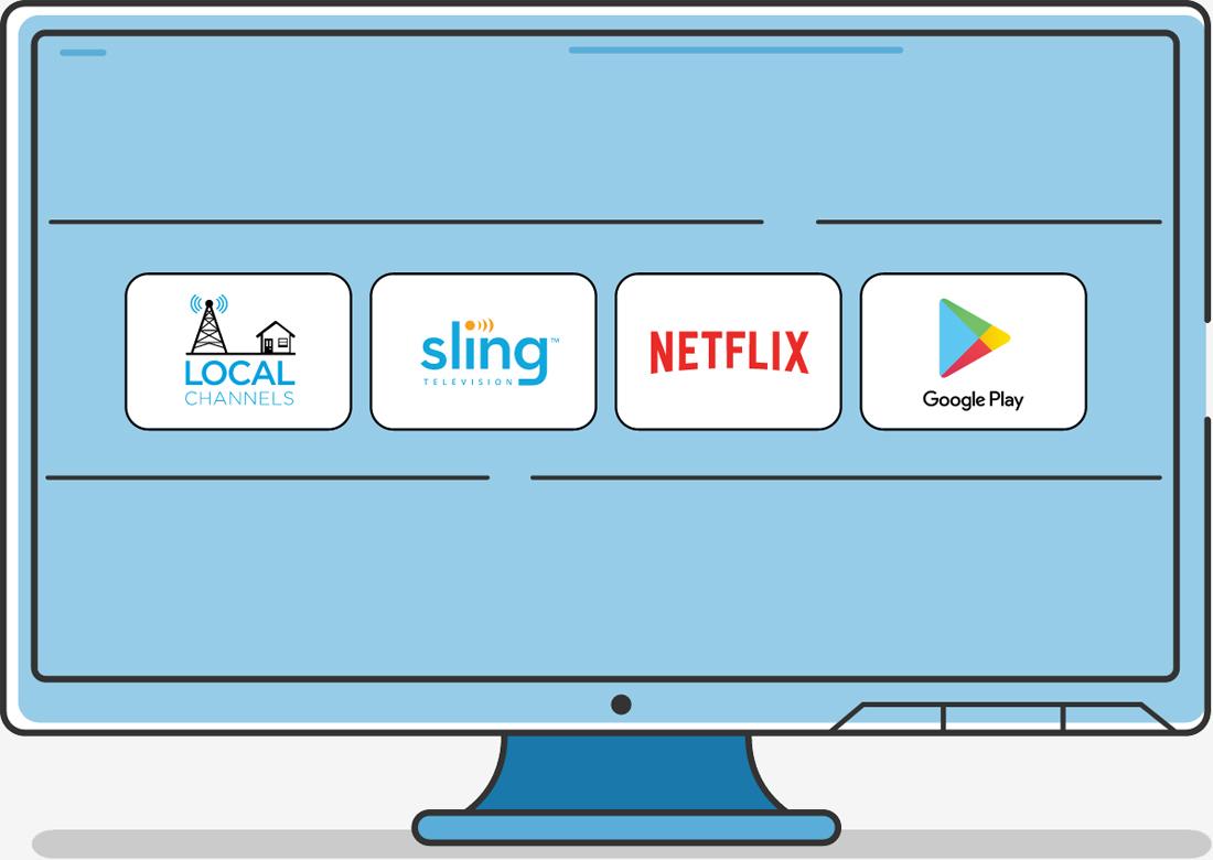ces, streaming, set-top box, ota, 4k, sling tv, cord cutting, ces 2017