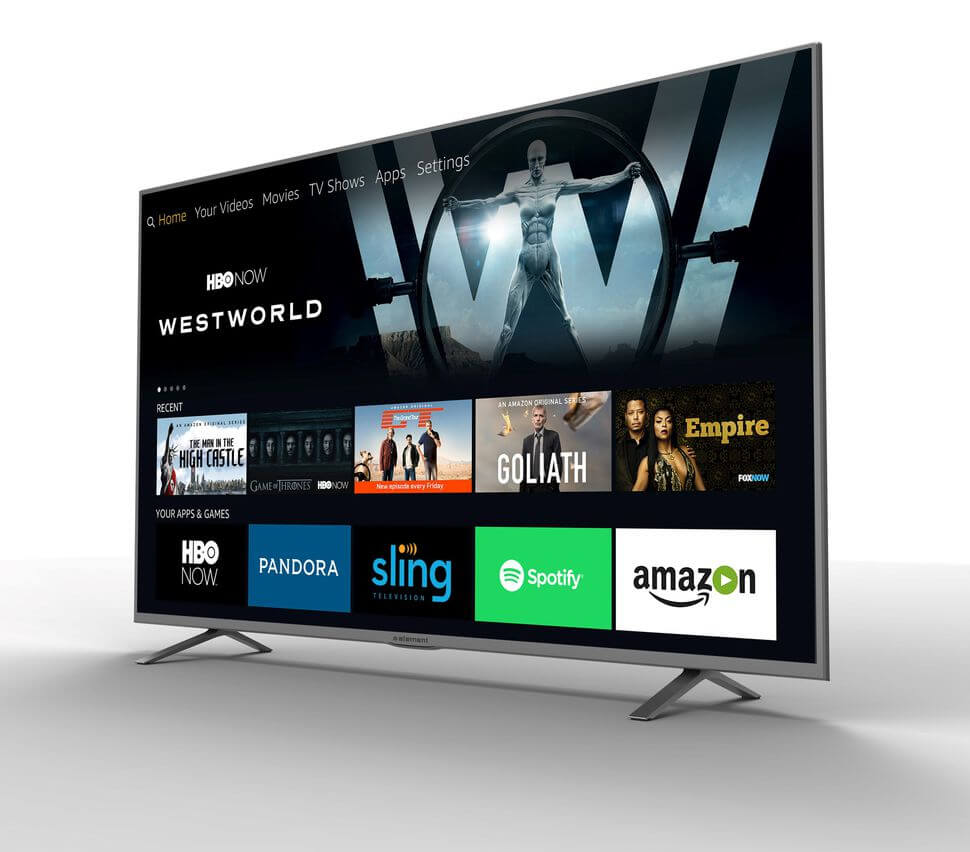 amazon, ces, televisions, amazon fire tv, alexa, ces 2017