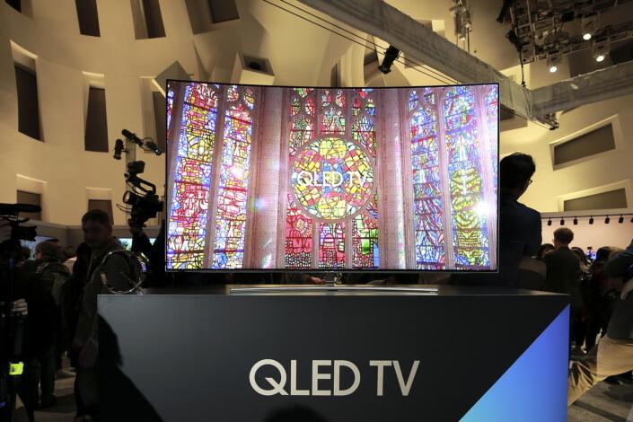 samsung, ces, televisions, quantum dot, ces 2017