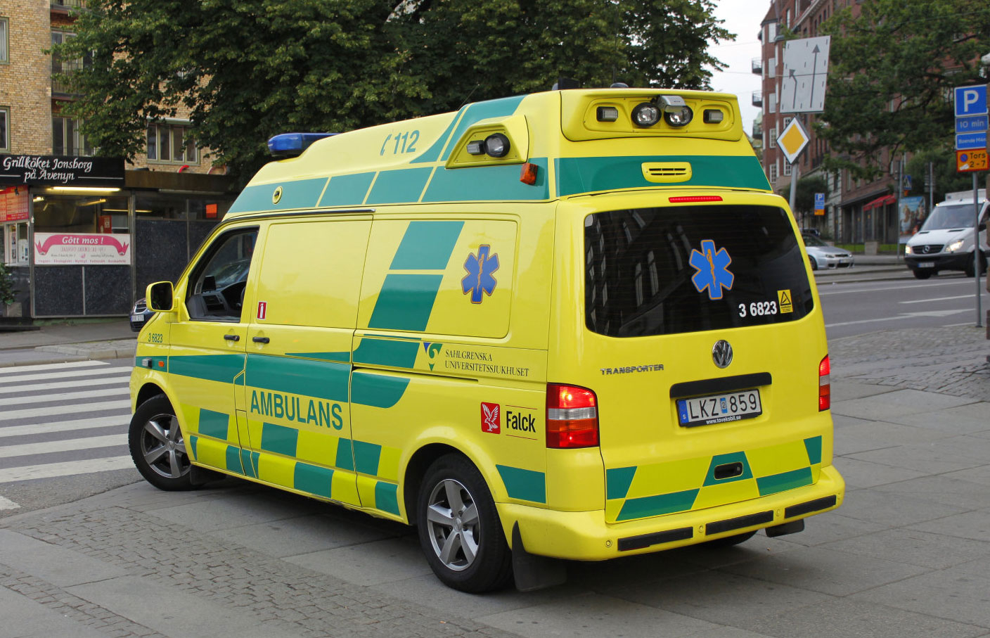 sweden, ambulance, emergency vehicle