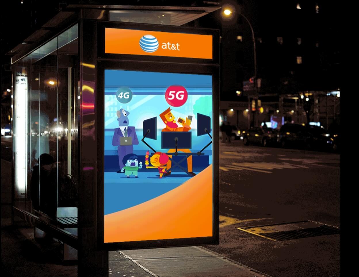 att, wireless carrier, 2g, 5g