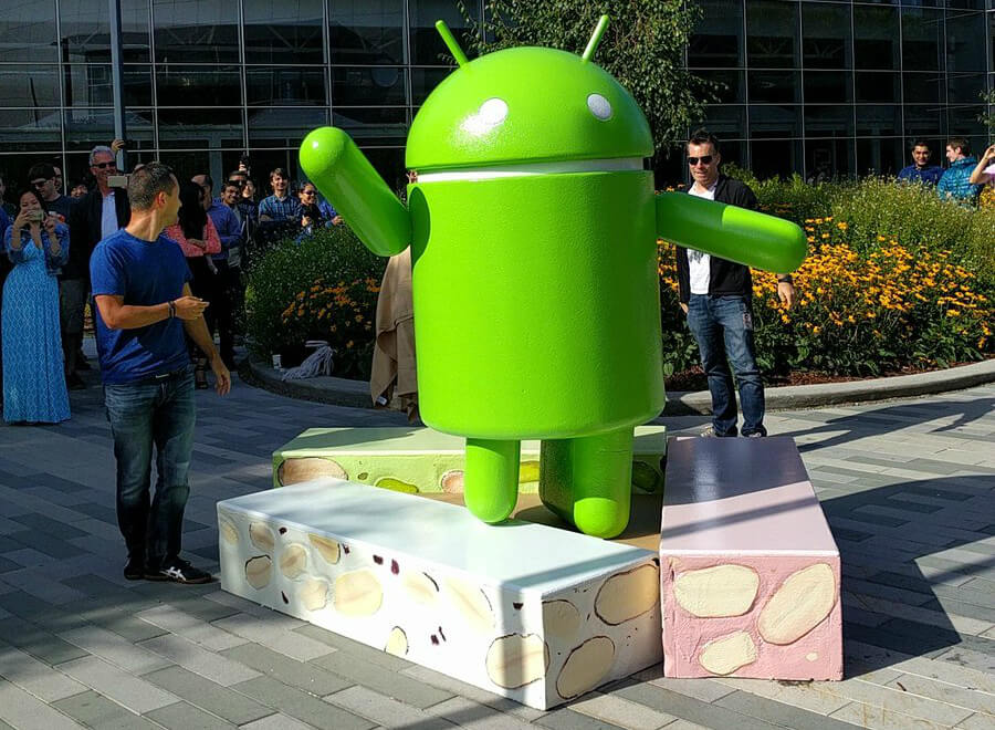 android, samsung, update, galaxy s7, nougat