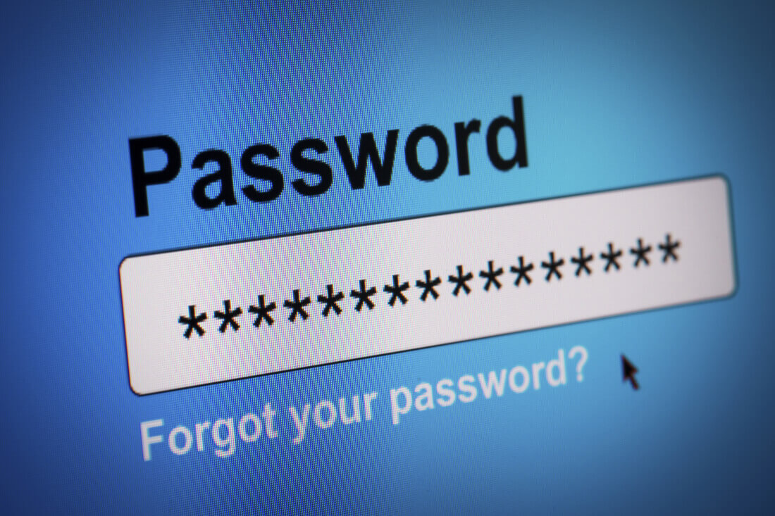 facebook, password