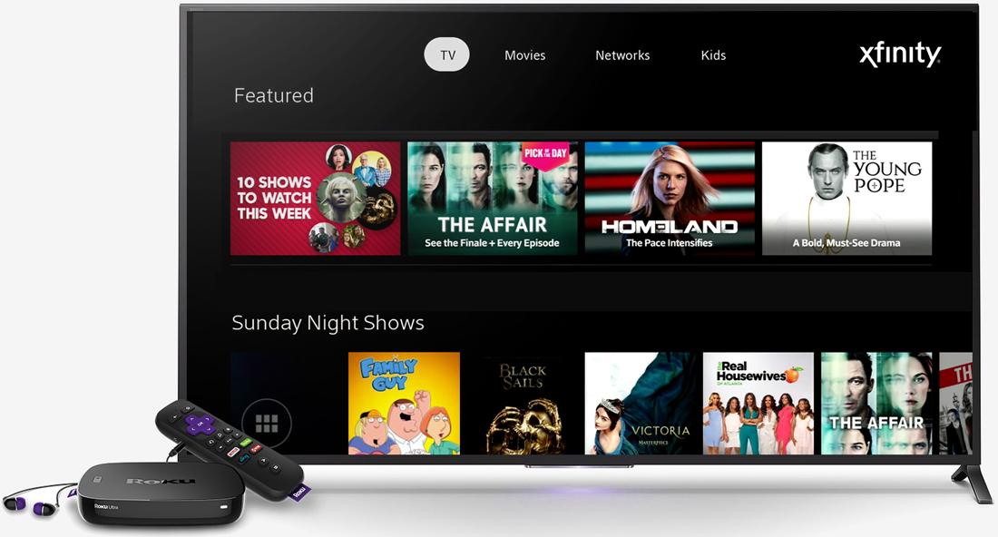 comcast, roku, cable, xfinity, set-top box