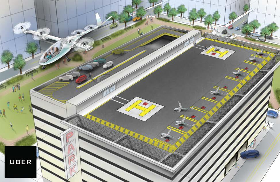 nasa, uber, flying cars