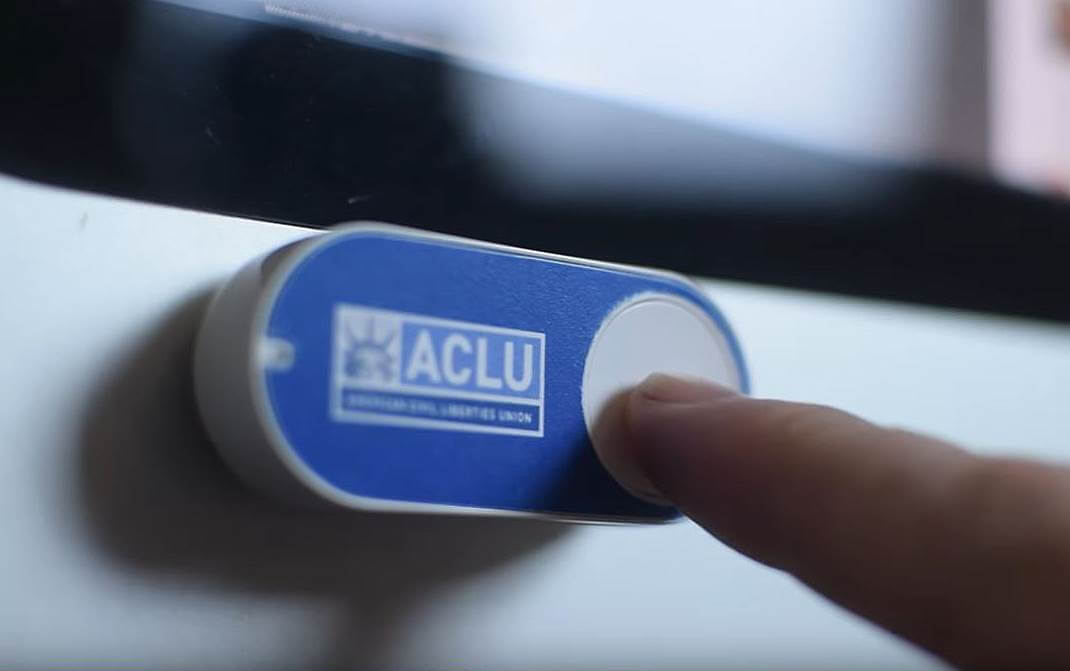 amazon dash, donald trump, aclu