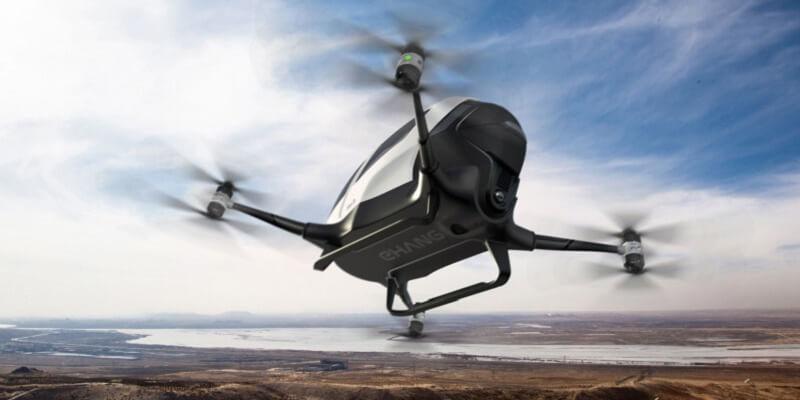 drone, dubai, ehang 184, passenger drone