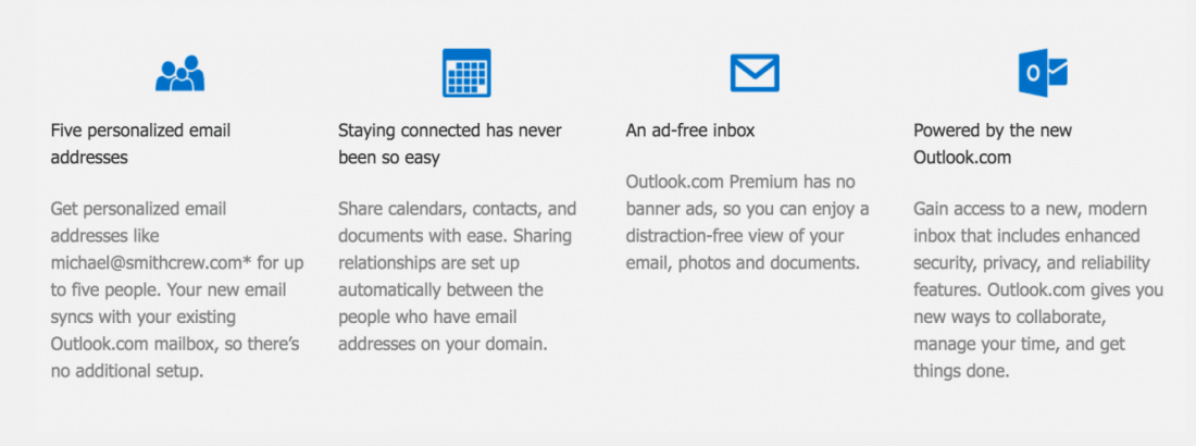 Microsoft's Outlook.com Premium Service Now Available to all us Residents for $19.95 Per Year