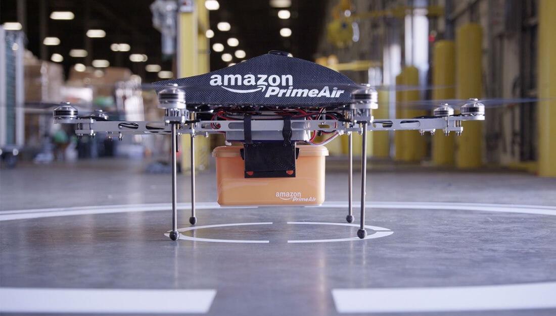 amazon, patent, drones