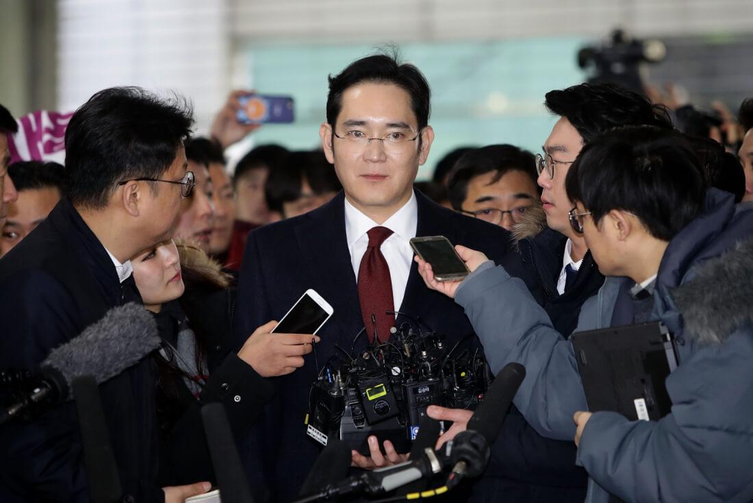samsung, arrest, bribery, samsung bribery, lee jae-yong