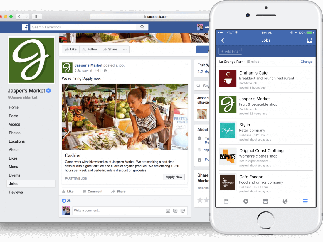 Facebook to allow job postings on its platform