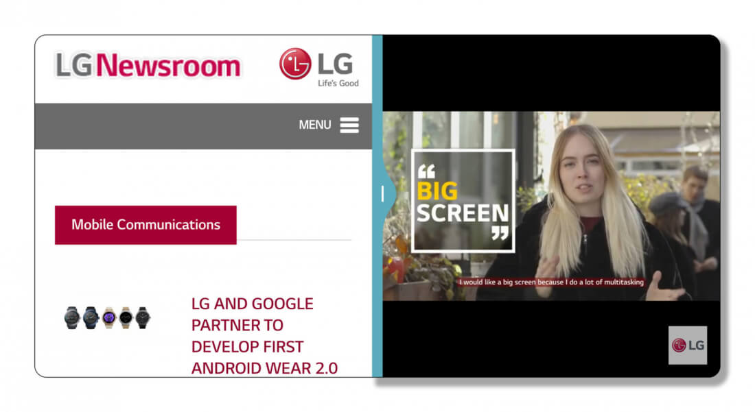LG G6 to feature new UX 6.0 interface, improved multi-tasking support