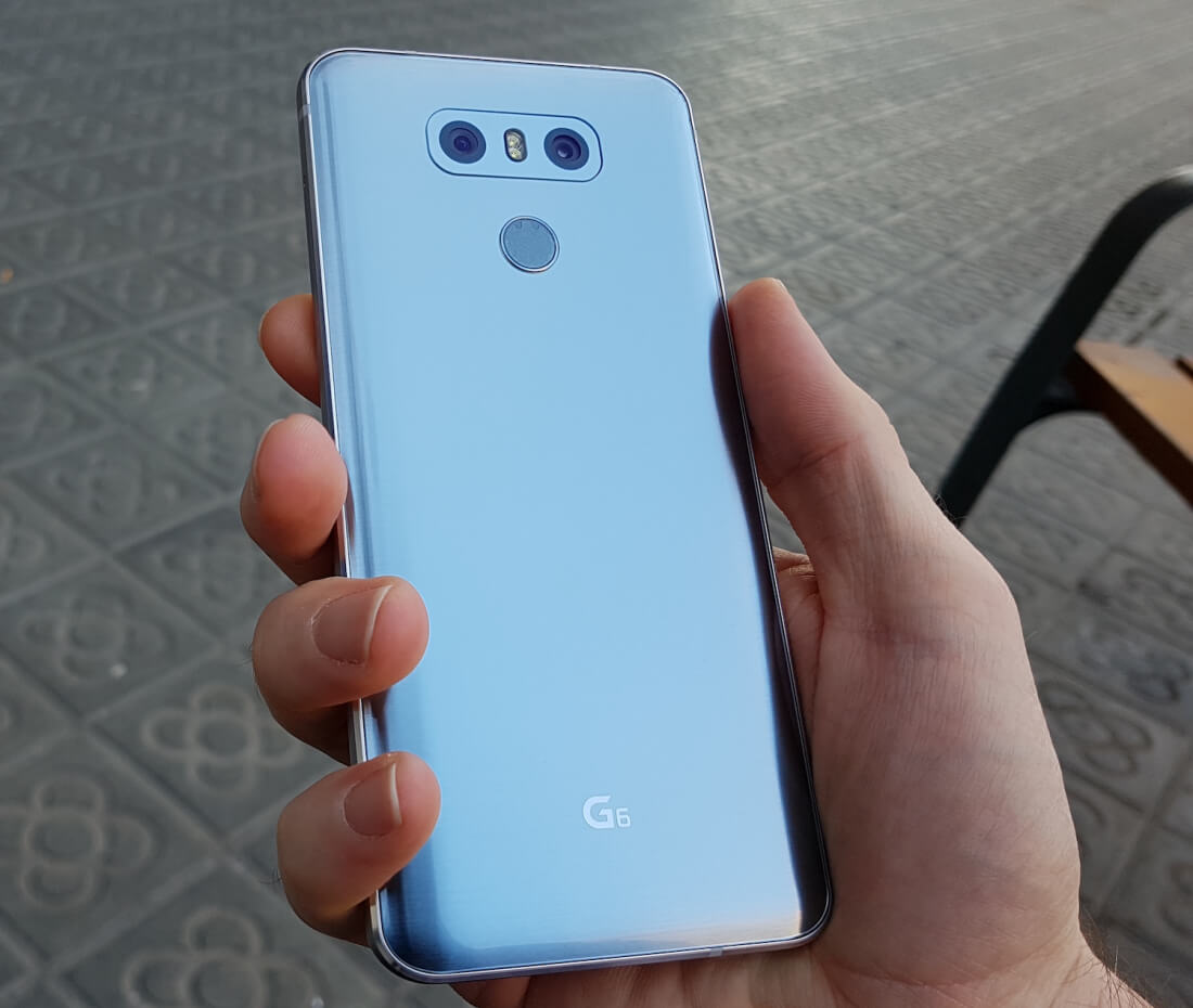 Hands-on first impressions with the LG G6