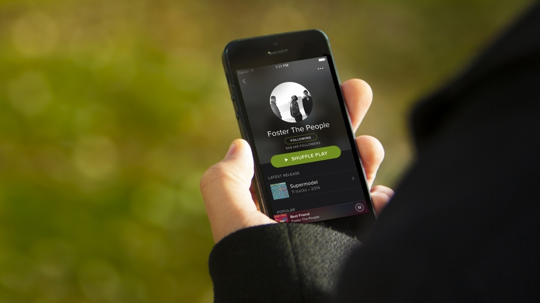 spotify, streaming music