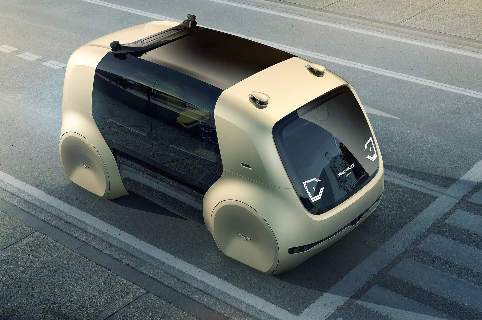 self-driving car, volkswagen, sedric