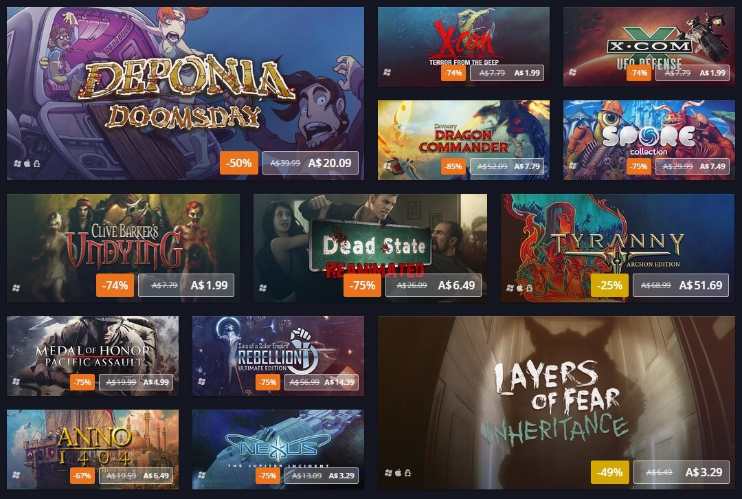 gog, sale, pc gaming, spring sale, gaming deal