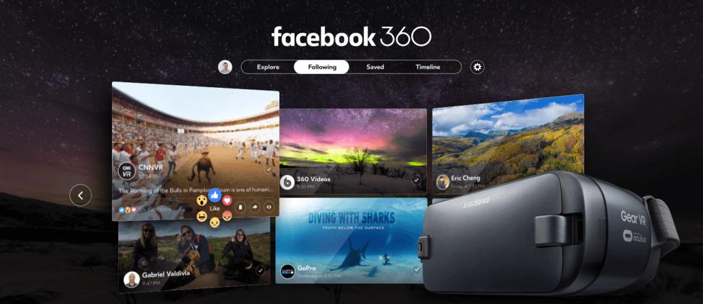 facebook, vr, gear vr, facebook 360