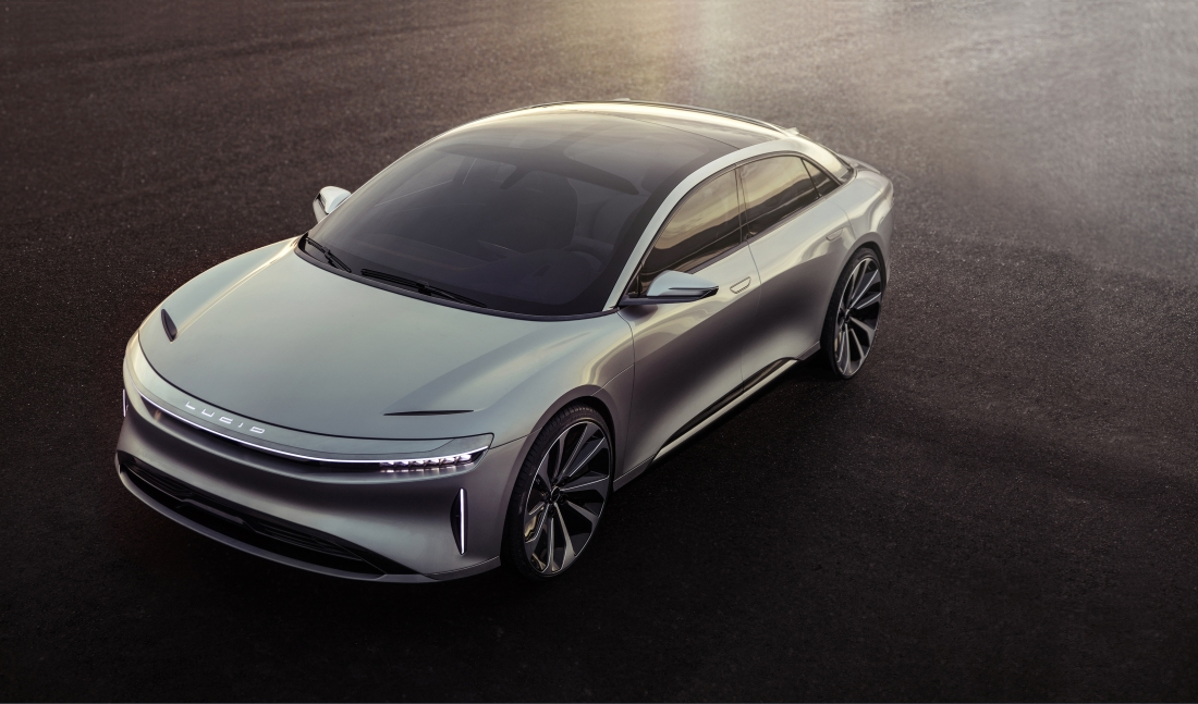 electric car, lucid, lucid air