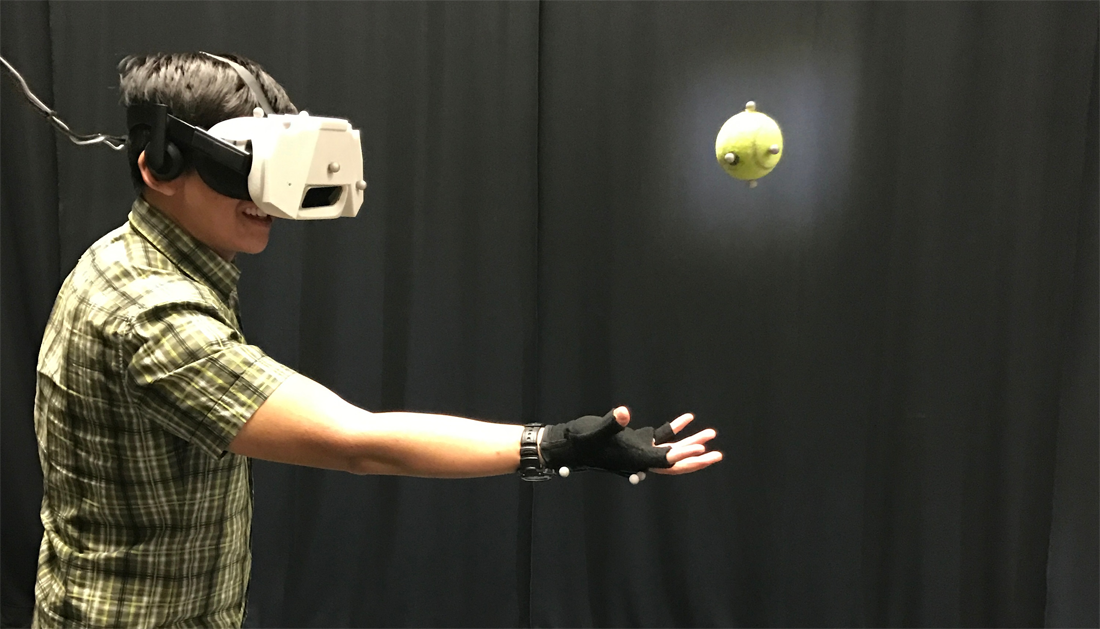 virtual reality, disney research