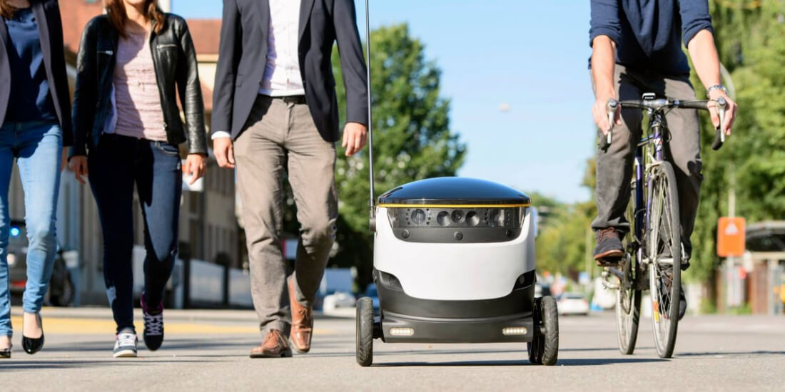 robots, food delivery, starship technologies, doordash
