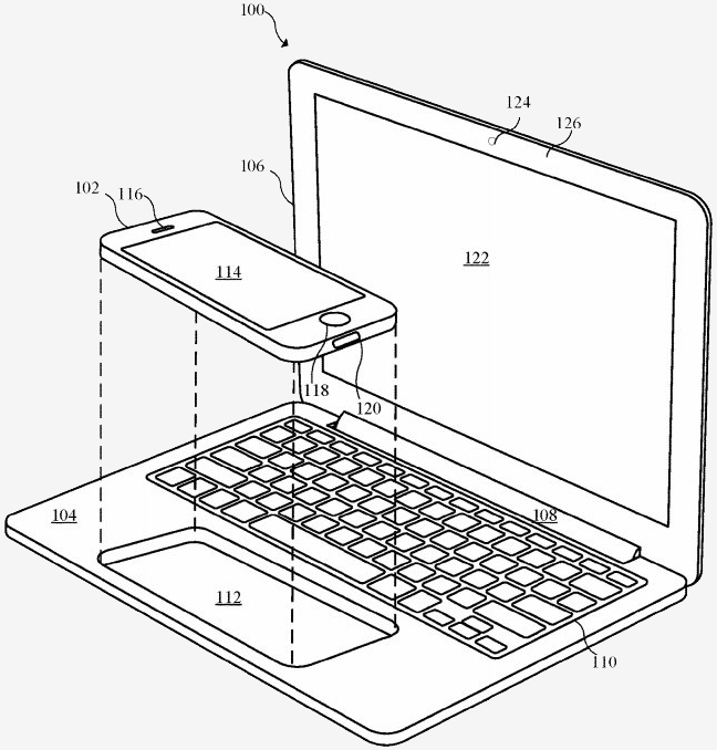 apple, iphone, ipad, laptop, patent